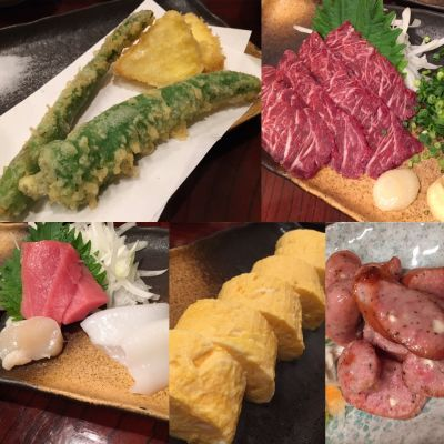天ぷら 煮魚 和食 やまぐち