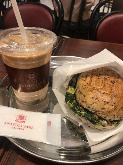 ANTICO CAFFE   AL AVIS  なんばパークス店