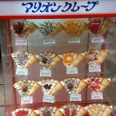 マリオンクレープ 上野アメ横店
