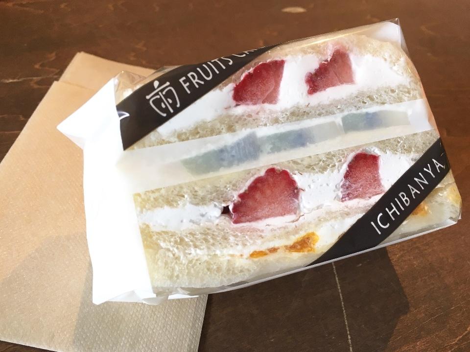テイクアウトスイーツ/奈良のくだもの屋さん直営フルーツサンドとフルーツ大福のお店ICHIBANYA FRUITS CAFE(いちばんや)大和郡山店の口コミ