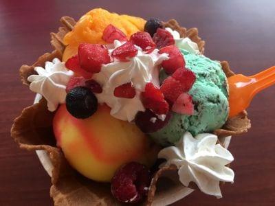 ブルーシールアイスクリーム 福生店の口コミ