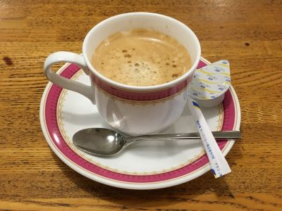 コーヒーショップ  シルク