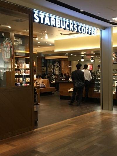 スターバックスコーヒー LAQUE四条烏丸店の口コミ