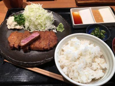 牛カツ 壱弐参