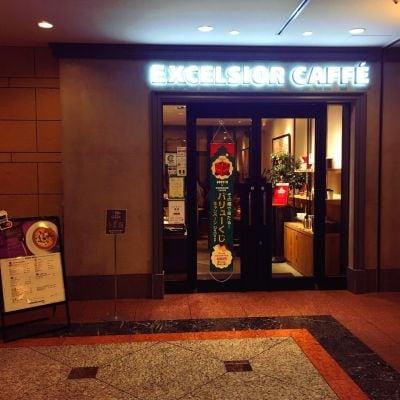 エクセルシオール カフェ バリスタ 恵比寿ガーデンプレイス店