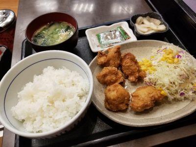 なか卯 赤坂溜池店