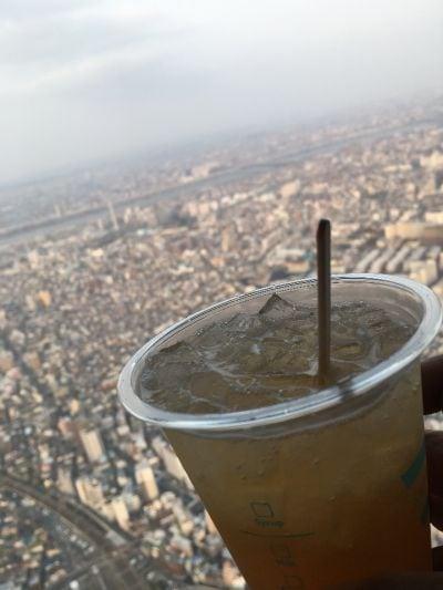 東京スカイツリーカフェ フロア350