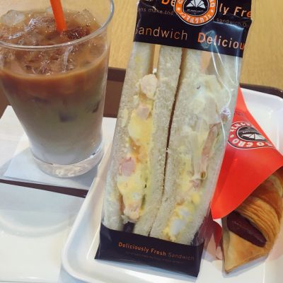 サンマルクカフェ 慶応三田店