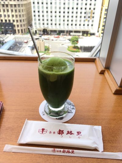 茶寮 都路里 京都伊勢丹店