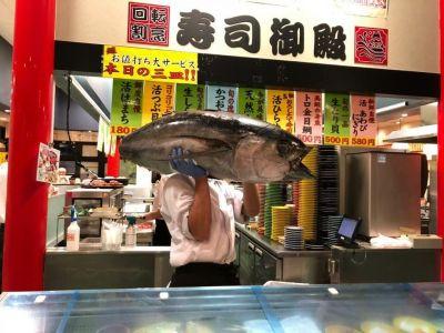 回転割烹寿司御殿 竹の山店