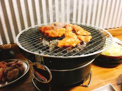 炭火焼肉ホルモン ホ