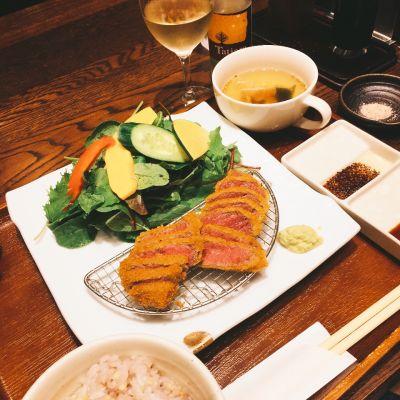牛かつ・サラダバーあおな 蒲田店