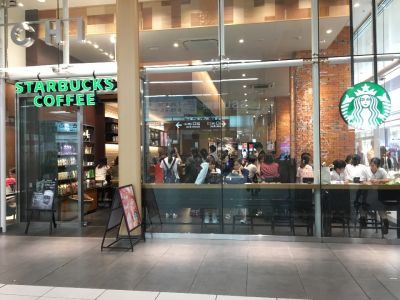 スターバックスコーヒー 浜松メイワン エキマチウエスト店