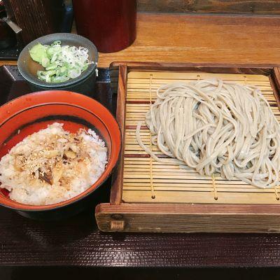 蕎麦 冷麦 嵯峨谷 浜松町店