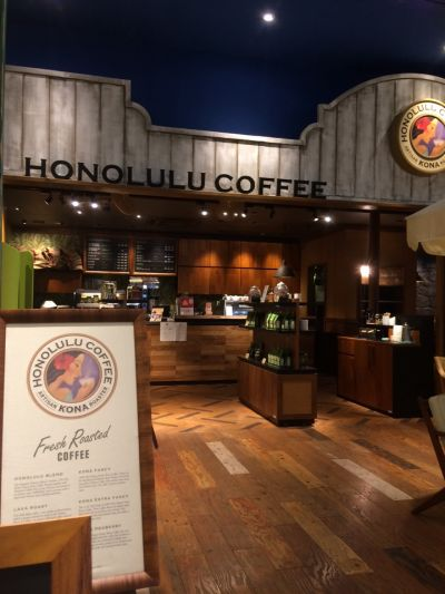 HONOLULU COFFEE 横浜ワールドポーターズ店