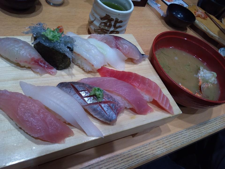 沼津魚がし鮨 アスティ静岡店の口コミ