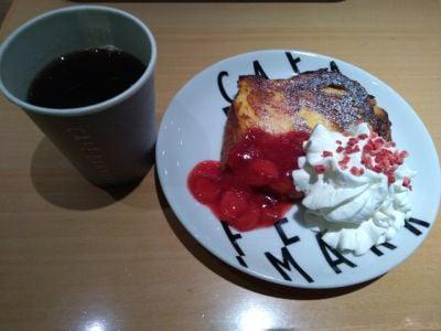 CAFE DANMARK JR名古屋駅前店内