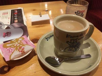 コメダ珈琲 高松三名店