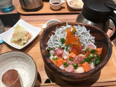 こめらく たっぷり野菜とお茶漬けと。二子玉川店の口コミ