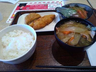 大井宿食堂