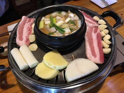 韓国家庭料理 黒豚