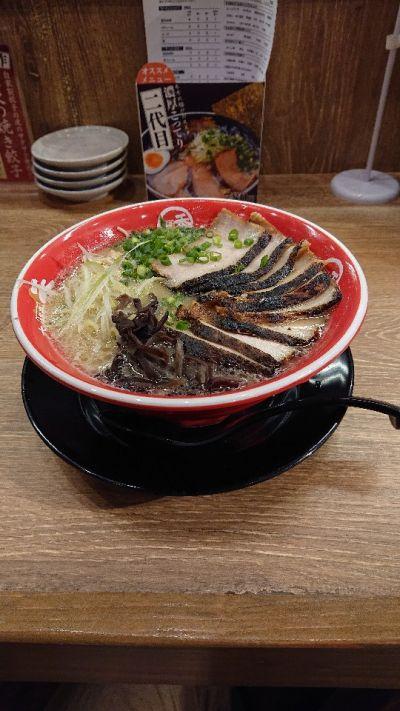 麺堂香 別府店