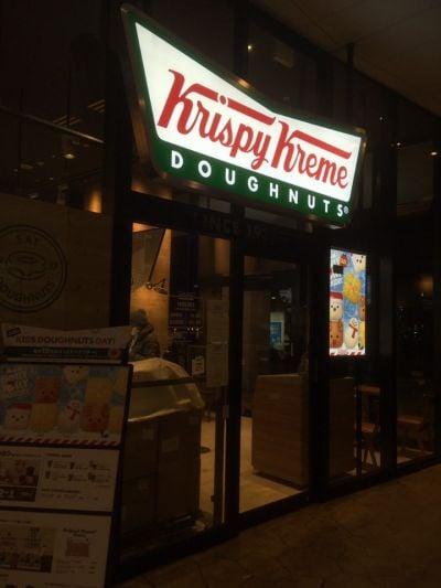 クリスピークリームドーナツ ららぽーと横浜店の口コミ