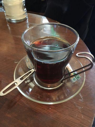 Pour~cafe'