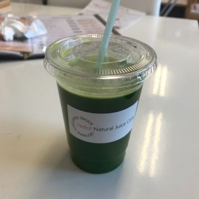 Hello!Natural juce Cafe 豊崎