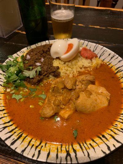 般⚪︎若 Pannya Cafe Curry