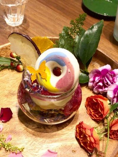 Flower tea
