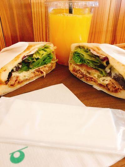 トーストサンドイッチ バンブー (Toast Sandwich bamboo)