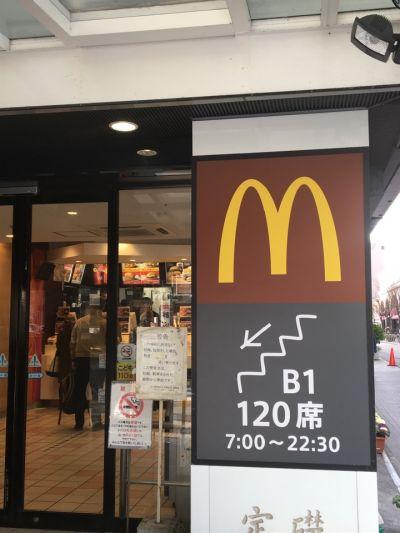 マクドナルド京都駅前店