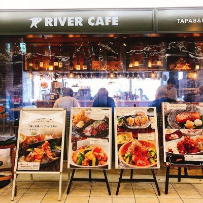 魚とワイン リバーカフェ