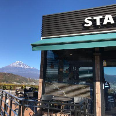 スターバックスコーヒー 富士川サービスエリア(下り)店