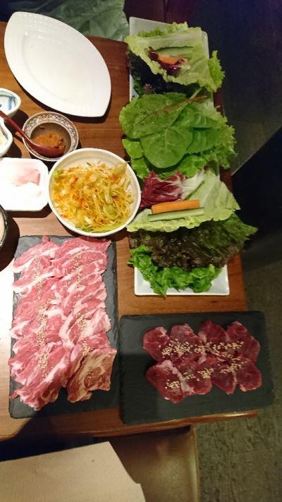 野菜たっぷり焼肉ジンギスカン飯田屋