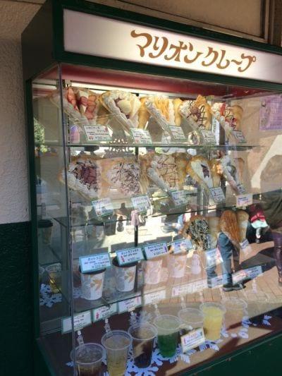 マリオンクレープ 東京タワー店