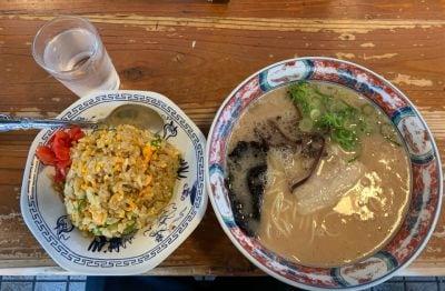 佐賀ラーメン 喰道楽 三日月店