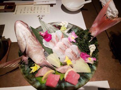 日本料理豹紋