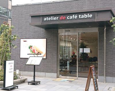 atelier de café table