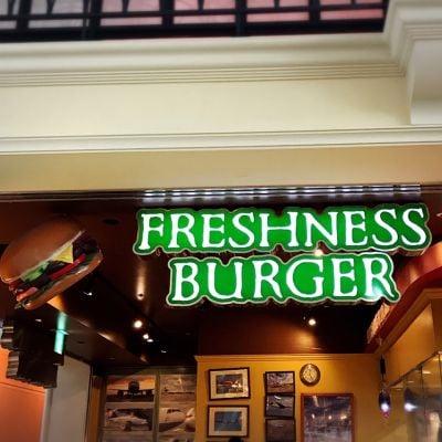 FRESHNESS BURGUR 中部国際空港店