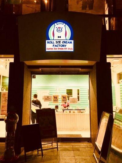 ロールアイスクリームファクトリー 原宿表参道店