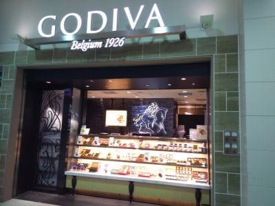 ゴディバ アトレ上野店
