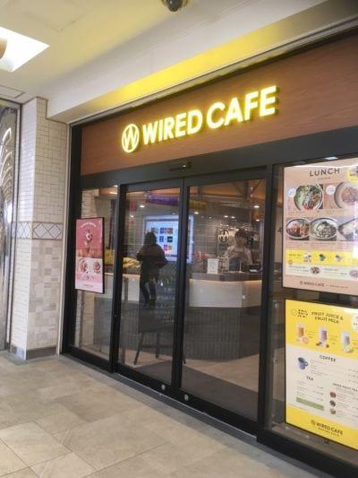 ワイアードカフェ ウィズ フタバフルーツパーラー (WIRED CAFE with フタバフルーツパーラー)