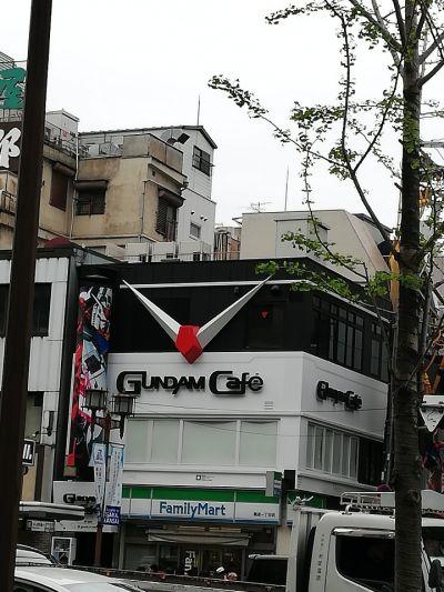 ガンダムカフェ 大阪道頓堀店の口コミ