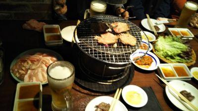 炭火焼肉・ジンギスカン食べ放題炭の談笑屋 新橋店