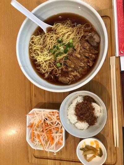 台湾担仔麺 汐留店の口コミ