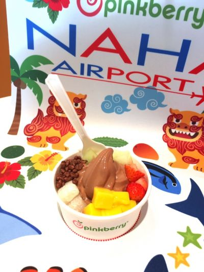 Pinkberry Frozen yogurt 那覇空港店の口コミ