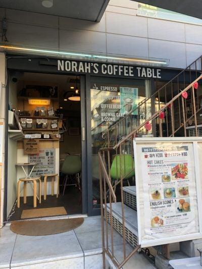 NORAH'S COFFEE TABLE