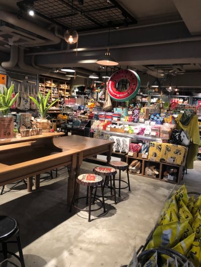 awesome  store&cafe